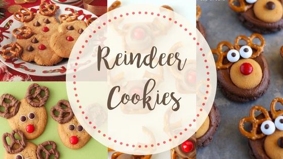 Reindeer Cookies title
