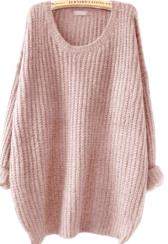 sheinlightpinksweater