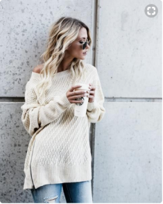 Vicicomfycreamsweater